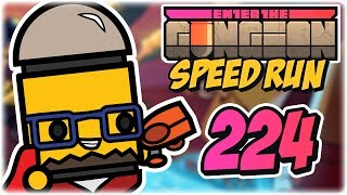 Convict Speedrun | Part 224 | Let's Play: Enter the Gungeon: Any% Speed Run | PC Gameplay