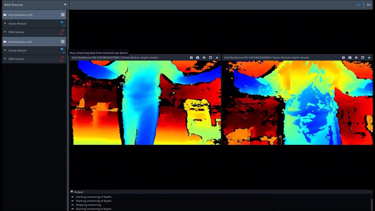Dot3D Scan captures 3d data with a $150 Intel RealSense
