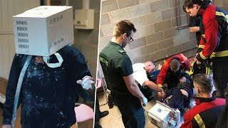 I cemented my head in a microwave and emergency services came.. (nearly died) thumbnail