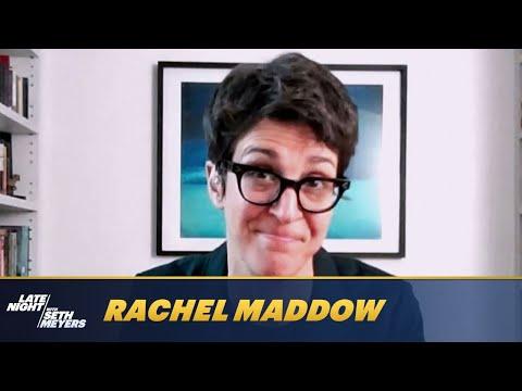 Rachel Maddow Reveals Her Favorite Trump Presidency Scandal