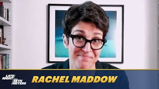 Rachel Maddow Reveals Her Favorite Trump Presidency Scandal