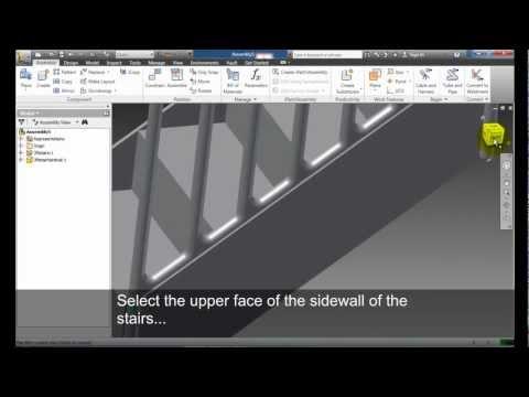 Autodesk Inventor Ilogic Handrail Doovi