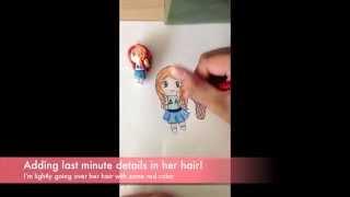 JOY (Red Velvet) Chibi Drawing Tutorial