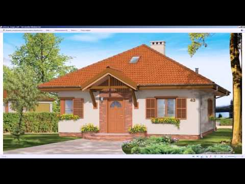 Проектирование дома - коттеджа в Брянске (ВидеоУрок) Моделирование проекта дома 3