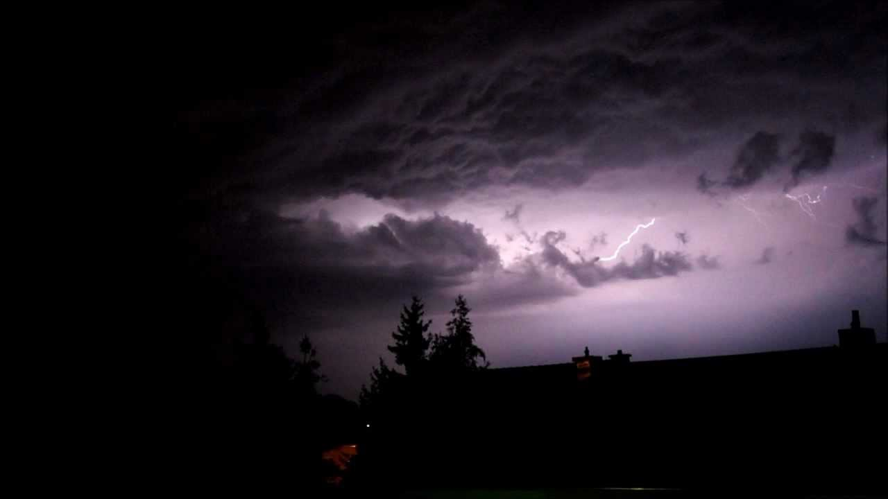 Animated Lightning Wallpaper Heavy Thunderstorm Hd Youtube