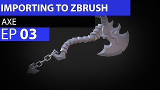 How to import into Zbrush from Maya