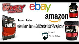 Product Review:Optimum Nutrition Gold Standard 100% Whey Protein (مراجعة)