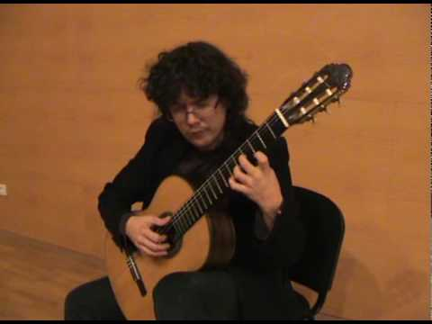 Mozart k 545 by enrique solinis guitar