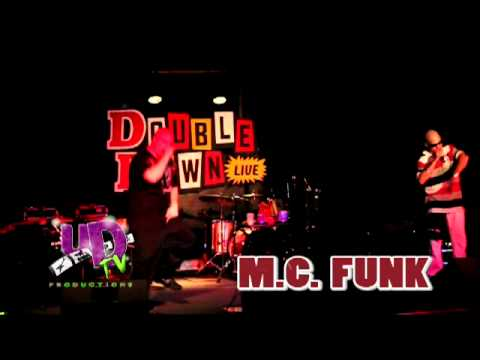 "M.C. FUNK  (Funks Inc) w/ Mac Daddy ""Best Be Ready"" at Double Down (Common Grounds) 9-2-11"