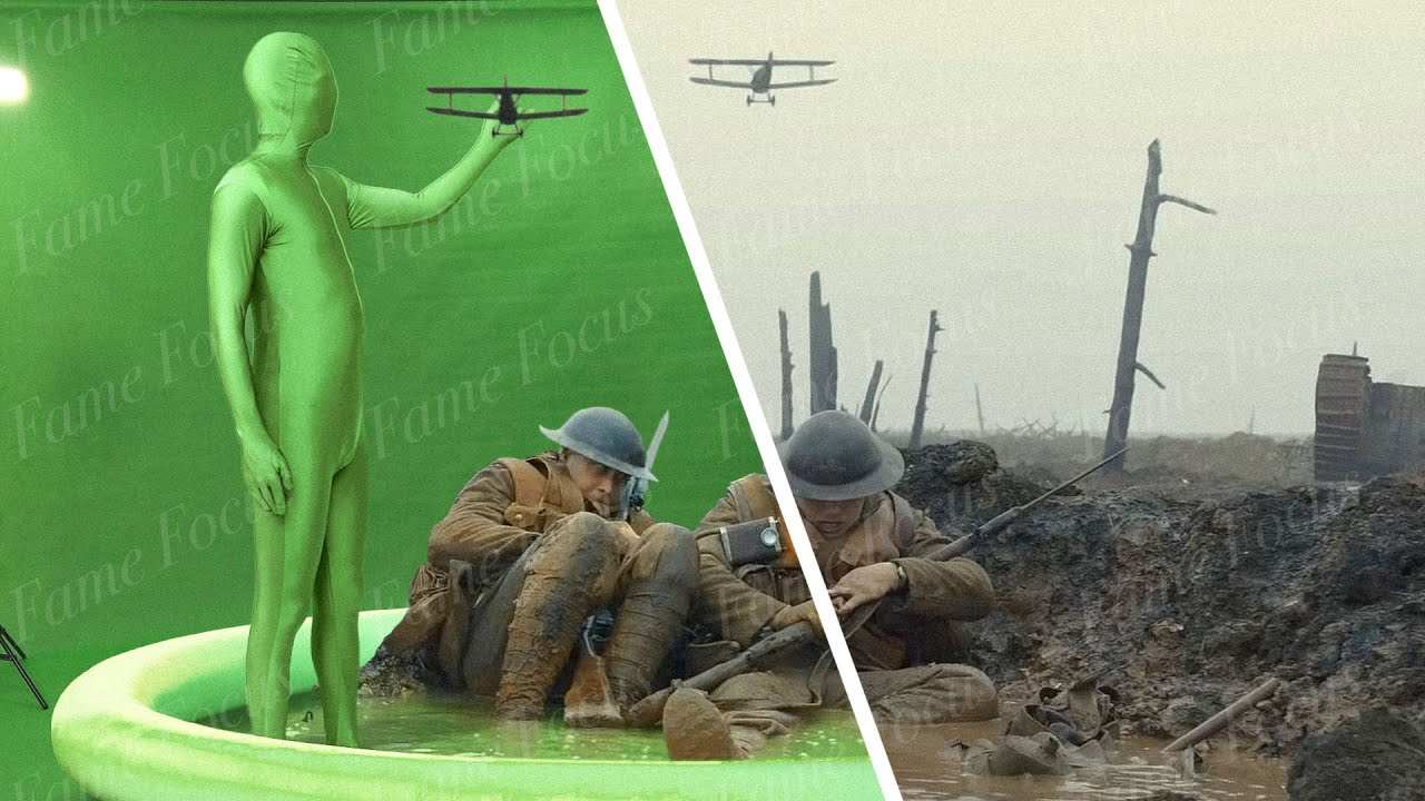 "Download Amazing Before & After VFX Breakdown: ""1917"""