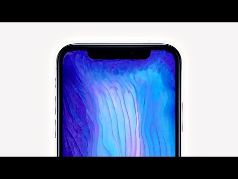Get Iphone X Fluid Wallpapers On Android Youtube