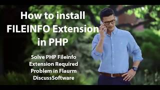 PHP extension 'fileinfo' requred - How to Enable fileinfo Extension in Cpanel?