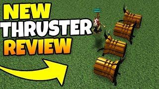 *NEW* GAS THRUSTER! (SUPER OP)   Build a boat For Treasure ROBLOX