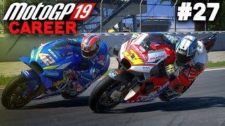 MotoGP 19 Career Mode Gameplay Part 27 - FIGHTING RINS! (MotoGP 2019 Game Career Mode PS4 / PC)