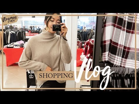 COME SHOPPING WITH ME VLOG: Investment Pieces | #Vlogmas 19