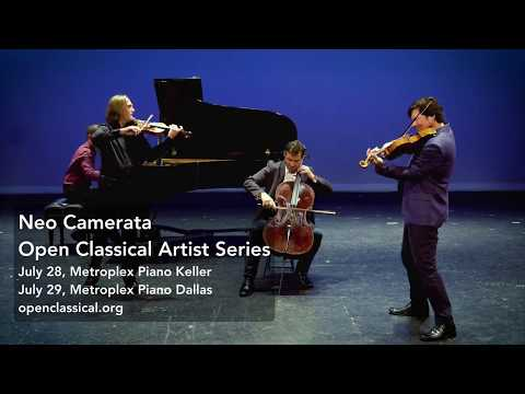 Neo Camerata Open Classical concerts in Dallas/Fort Worth July 2017