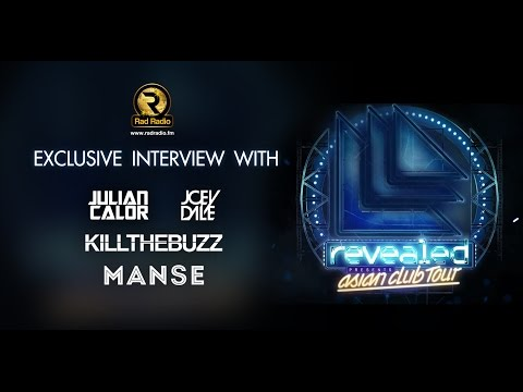 Exclusive Interview with Julian Calor, Joey Dale, Kill The Buzz and Manse