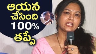 Actress Hema Reacts On Chalapathi Rao Vulgar Comment Issue | TFPC