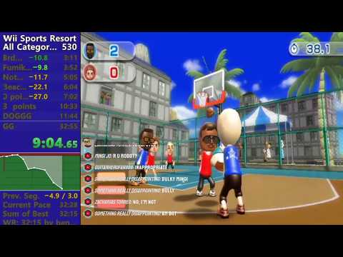 *World Record* Wii Sports Resort All Categories In 32:03