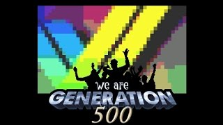 Spelpappan and Friends - Generation 500 - Amiga Demo (50 FPS)