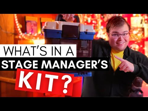 What's in a Stage Manager's Kit?? | Employee vs Independent Contractor RANT | Half Hour Call