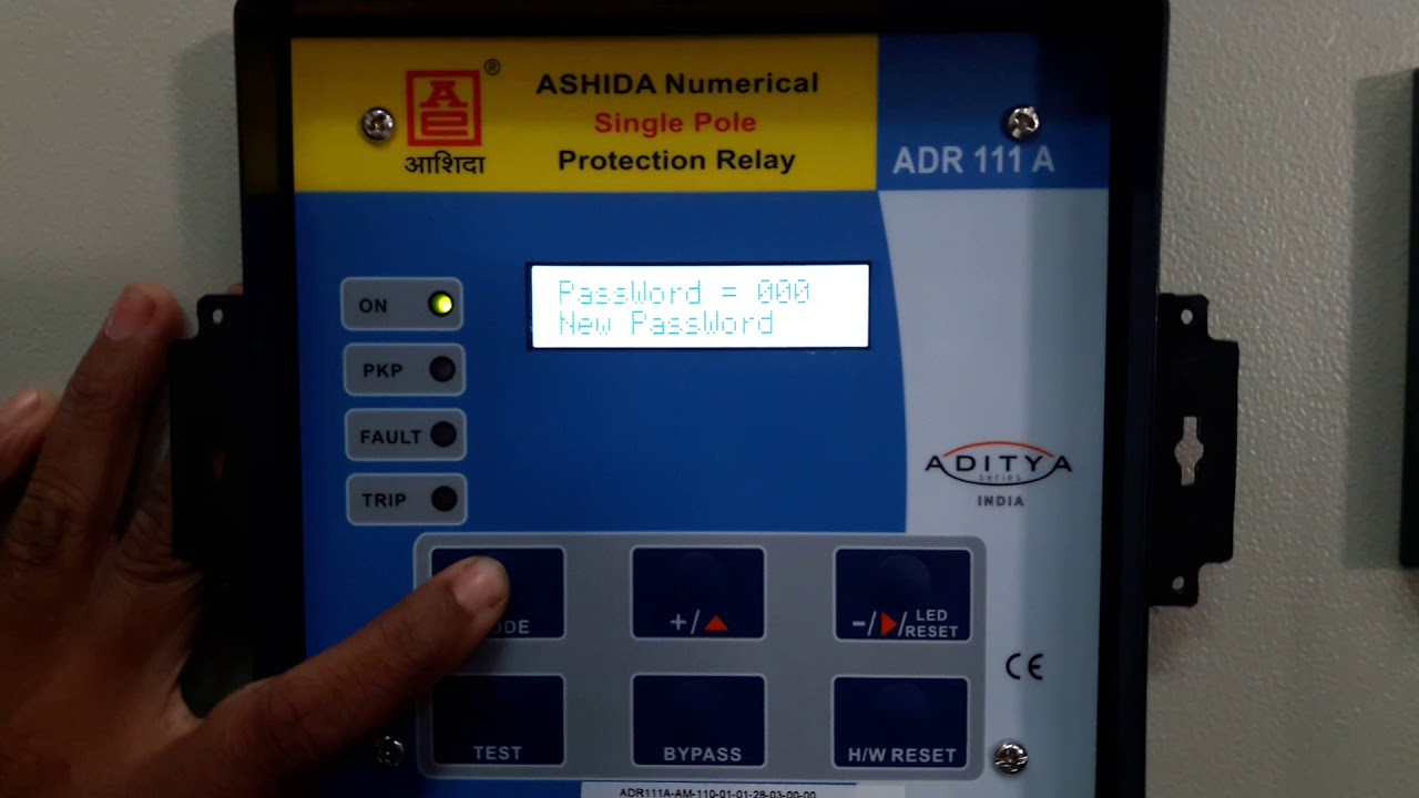 Ashida relay manual pdf