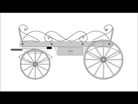 Making Our Homemade Horsedrawn Hearse. Part One - The Wooden Bits.