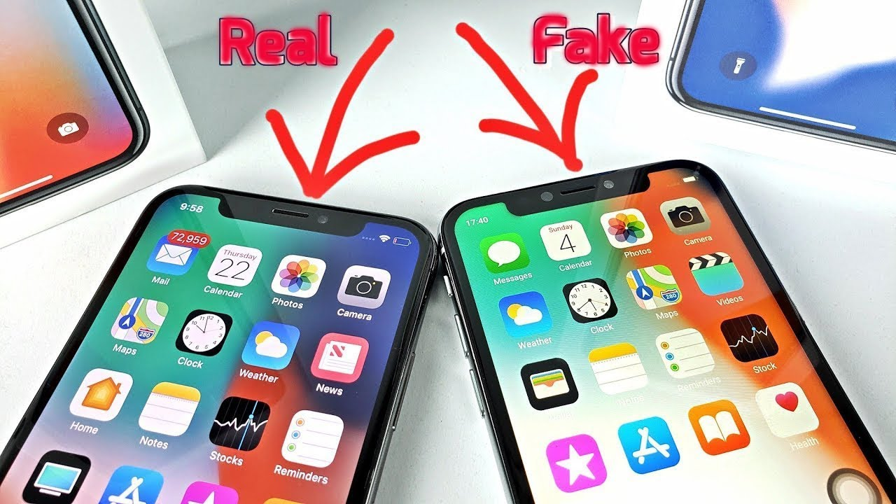 super cheap iphones iphone x real vs high master copy review in 13063
