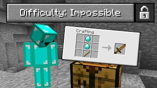 "I Played Minecraft on ""Impossible"" Difficulty..."