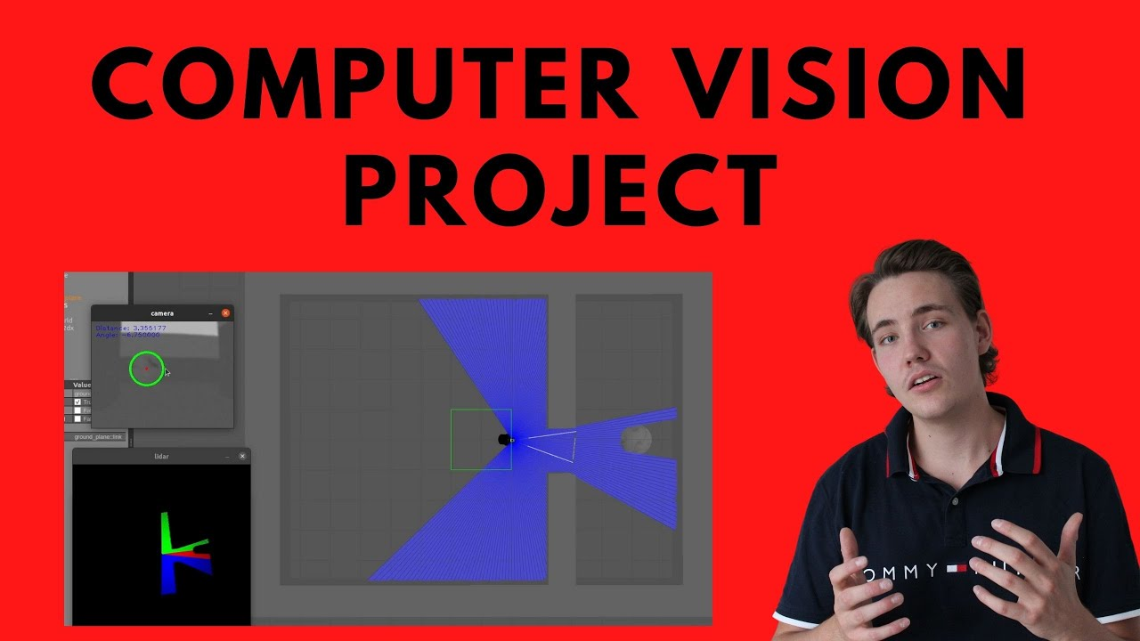 Detection and Distance Estimation from a Single Camera - Computer Vision and OpenCV C++ Project