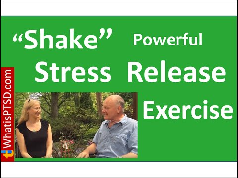 Try this Shake to Release Stress Exercise with Dr. Anna Baranowsky and Frank Pasquill