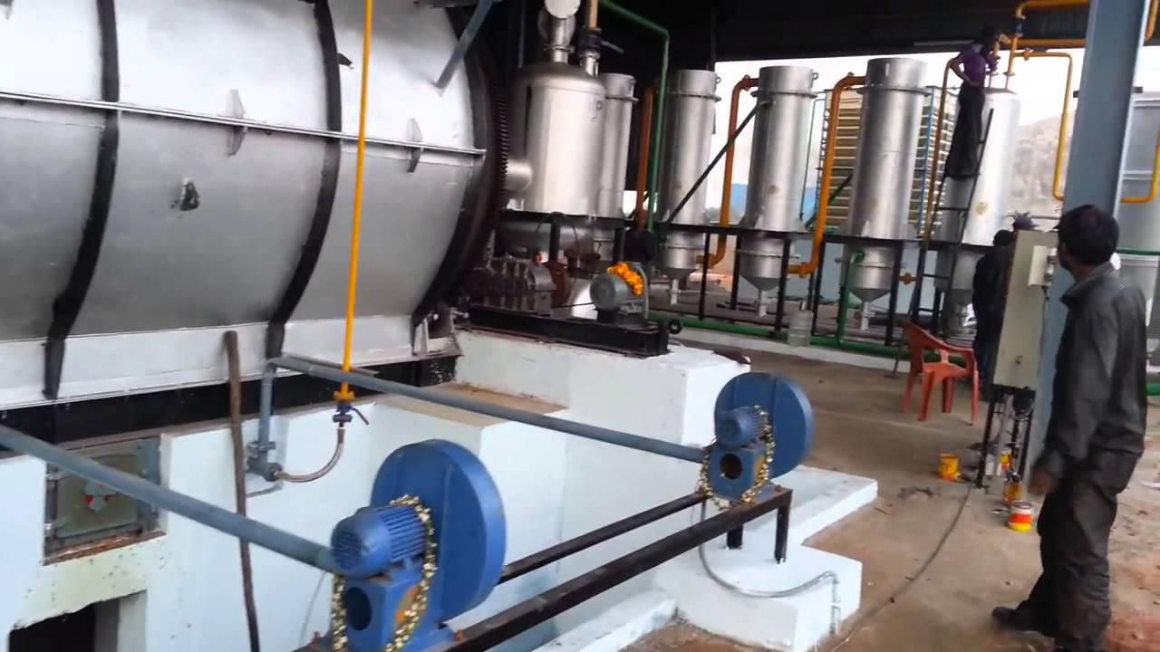 Tyre Pyrolysis Plant by K  G  N  Industries