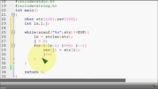 Bangla C programming tutorial  68   PS 09   Check a string is palindrome or not