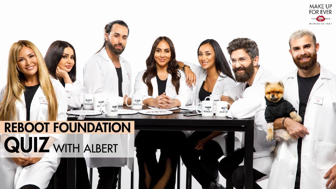 إختبار كريم أساس ريبوت مع ألبير | REBOOT Foundation Quiz With Albert