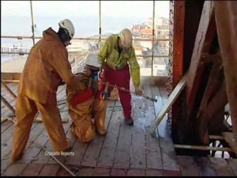 GRANADA REPORTS  Blackpool Tower strip