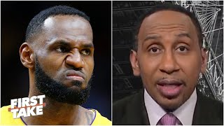 Stephen A. reacts to the Lakers' blowout loss to the Jazz | First Take
