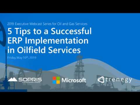 Tips to a Successful ERP Implementation for Oilfield Services Companies
