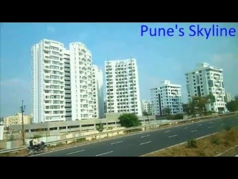 Indian mega cities | Pune Skyline | One of the Best city to live in India
