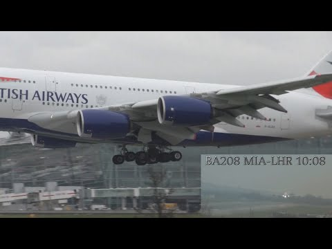 Air traffic control at London Heathrow airport Dual Camera ATC