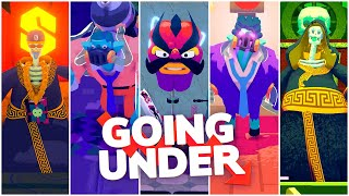 Going Under - All Boss Fights, ENDING, & Credits (PC)