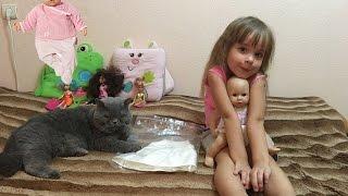Обзор и примерка платья для куклы Анабель, Baby Annabell for Kids.