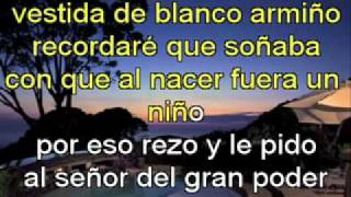 mi niña bonita   vicente fernandez jr   karaoke   video