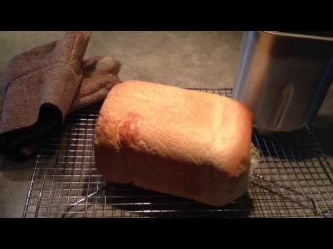 Old Fashioned White Bread In The Bread Maker
