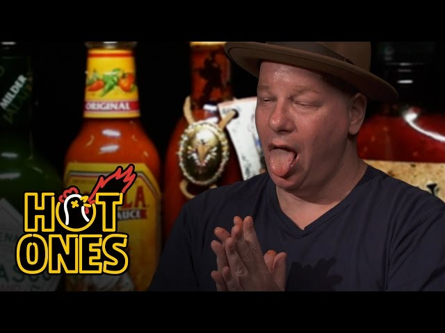 Jeff Ross Gets Roasted by Spicy Wings   Hot Ones