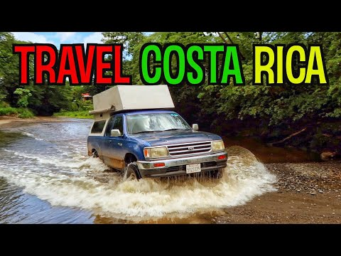 Traveling In Costa Rica | Camping And Surfing Playa Avellanas & Marbella | Overland Travel Vlog 61
