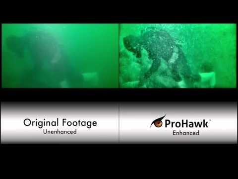 ProHawk Subsea Diver Moving Rocks