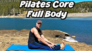 Pilates Core & Ab Home Workout (15 Min POWER PILATES) Sean Vigue Fitness