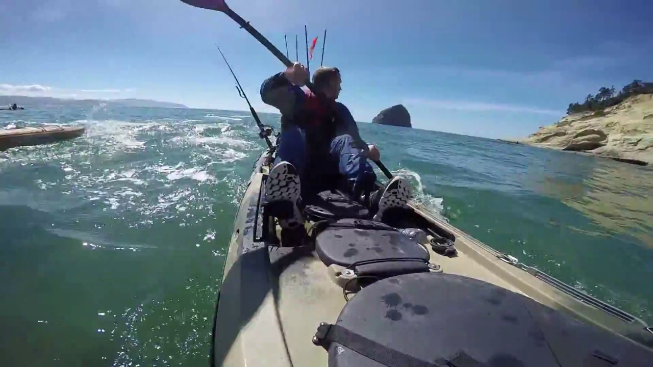 Ocean kayak fishing on the oregon coast 2016 hd youtube for Central coast kayak fishing