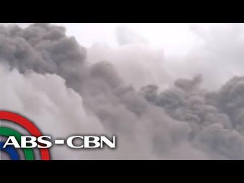 Lava dome ng bulkang Mayon, gumuho