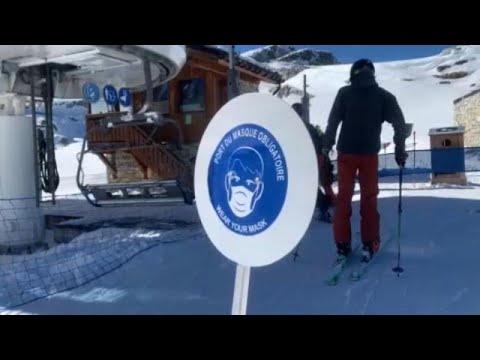 Альпы, снег, коронавирус: французский Тинь открыл горнолыжный сезон …